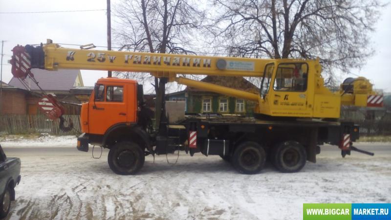Спецтехника  Угличмаш КС-55743
