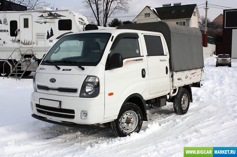грузовик KIA  BONGO III, 2012г, 4х4