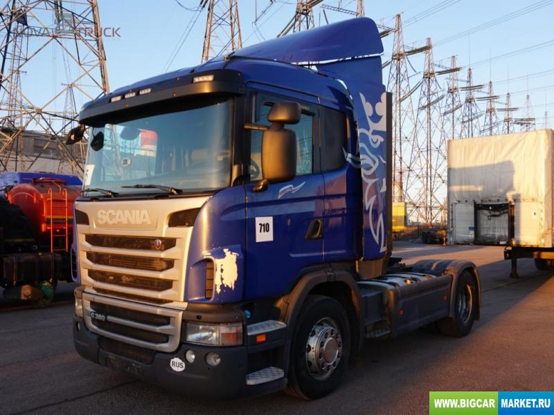 седельный тягач Scania G380 LA4X2HNA