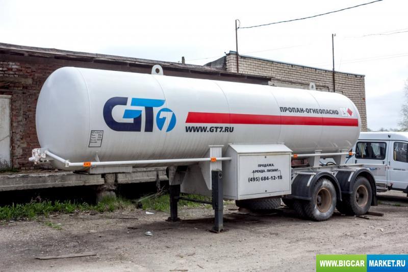 полуприцеп  GT7 ППЦЗ ППЦЗ-20