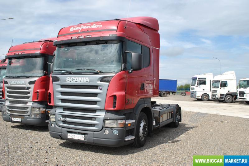 седельный тягач Scania R 420