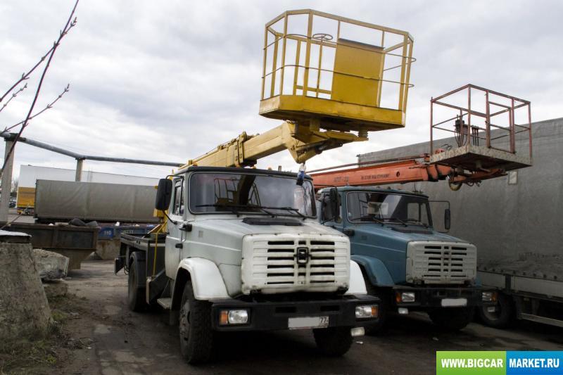 Спецтехника Автовышка ЗИЛ 18 м апт 18.04