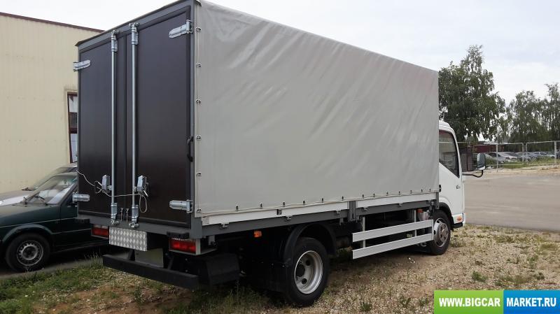 малый коммерческий транспорт JAC N-56