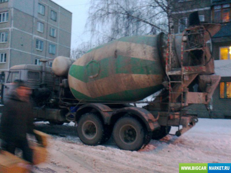 Спецтехника КамАЗ бетоносмеситель ЕВРО