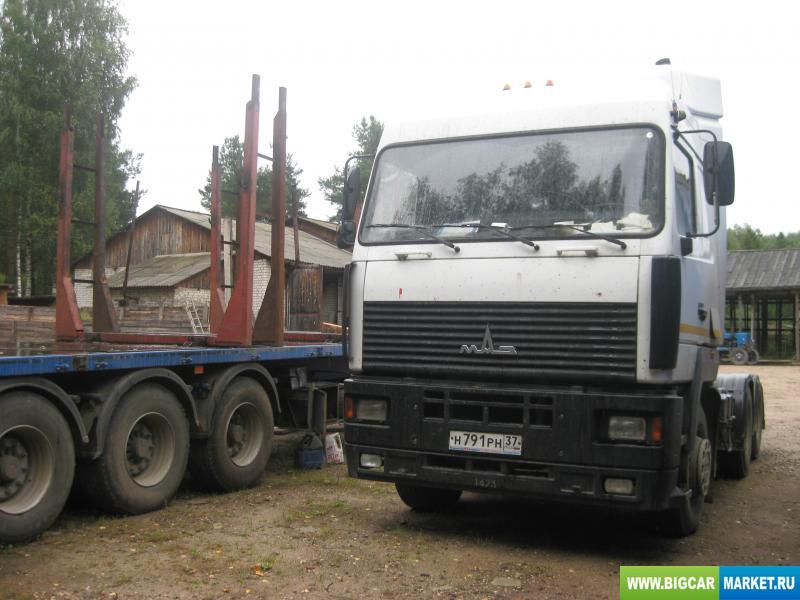 седельный тягач МАЗ 6430