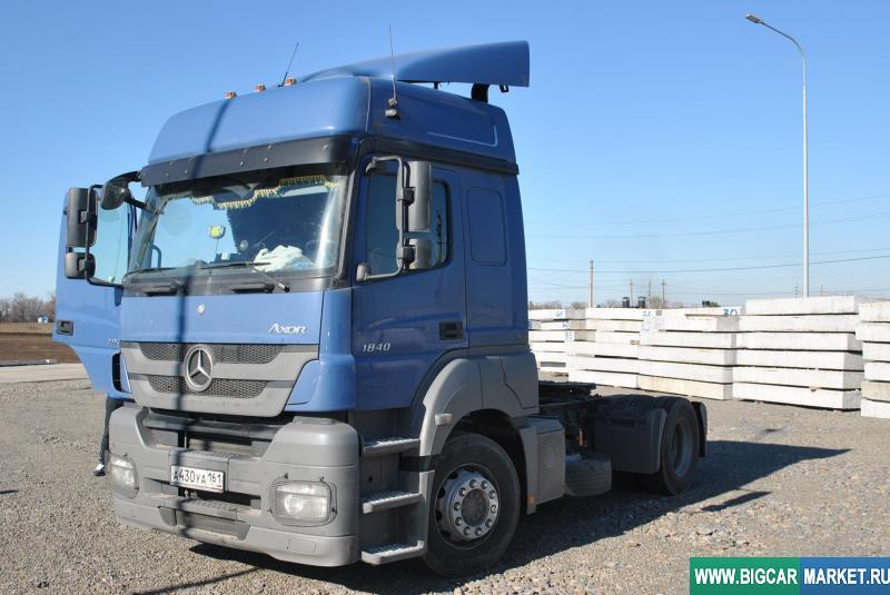 седельный тягач Mercedes Axor