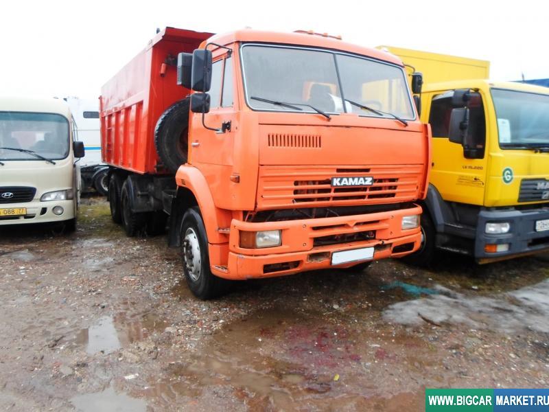 грузовик КамАЗ 6520-036