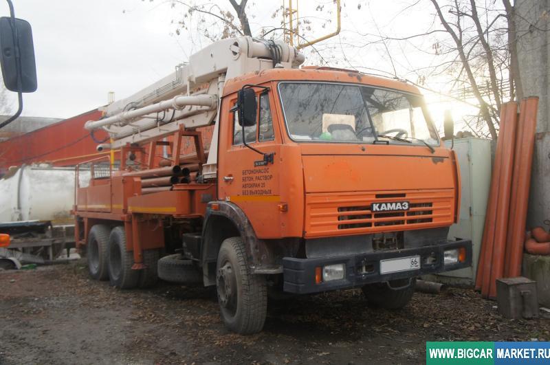 Спецтехника КамАЗ 53215