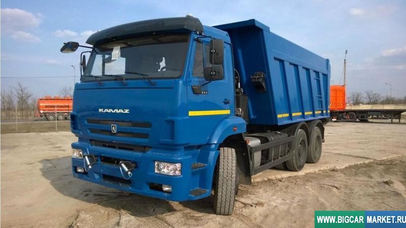 грузовик КамАЗ 6520-6012-43