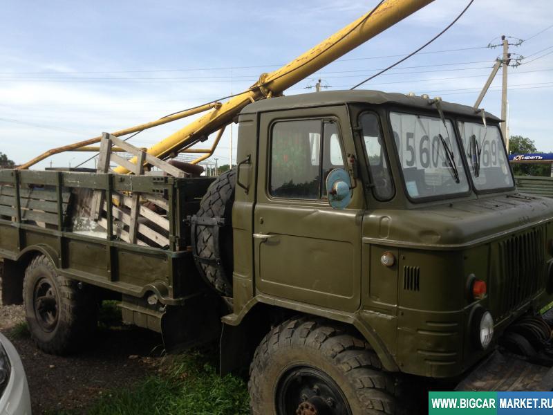 Спецтехника ГАЗ 66