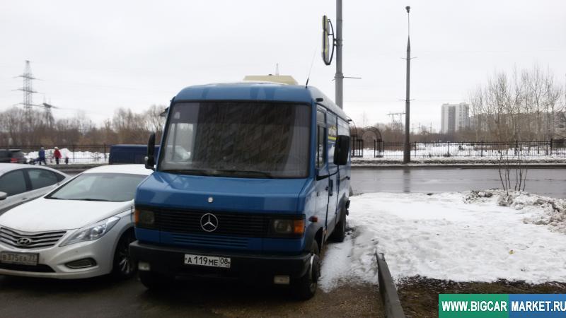 малый коммерческий транспорт Mercedes 711D