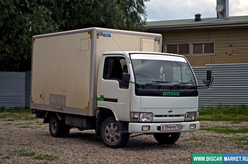 малый коммерческий транспорт Nissan Atlas