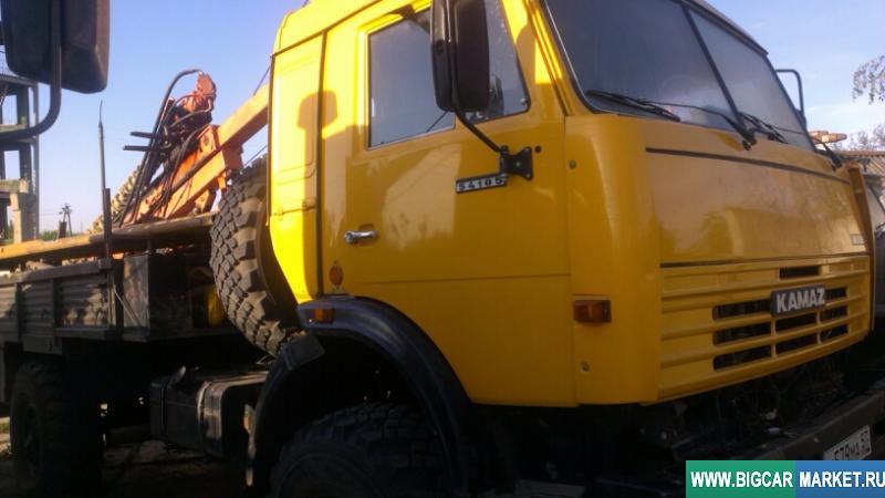 Спецтехника КамАЗ Буровая установка бгм-1М