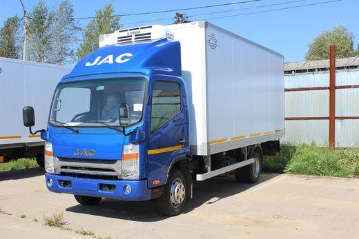 Изотермический фургон на шасси JAC N-75