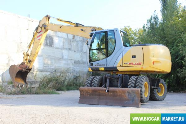 Спецтехника  NEW HOLLAND MH PLUS